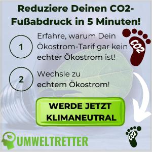 CO2 Fußabdruck reduzieren